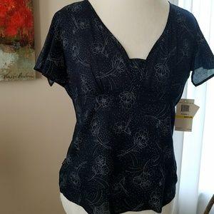 Calvin Klein navy blouse